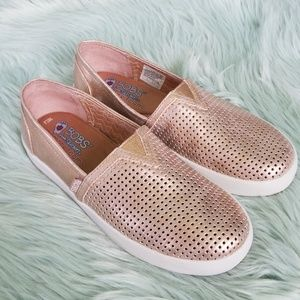 Hold Bobs By Skechers Rose Gold Shoes